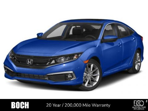 New 2020 Honda Civic EX CVT