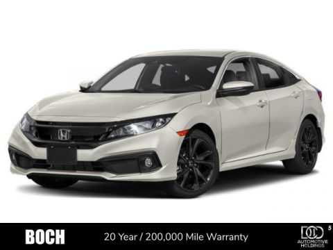 2019 Honda Civic Sport Manual